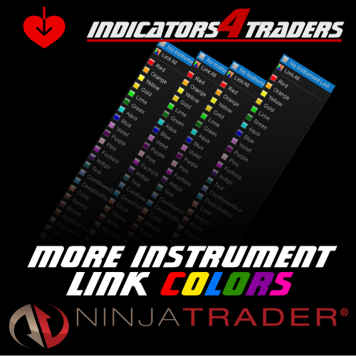 More instrument link colors for Ninjatrader 8